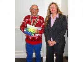 Hythe Rotary induct new member