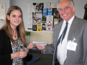 Walford and North Shropshire Student Wins Rotary Award