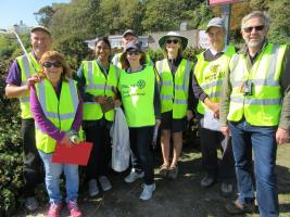 Supporting the National Beach Clean
