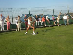 Interclub Bowls match