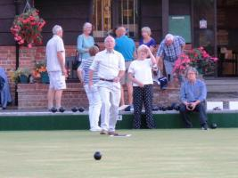 An evening at the Newbury Bowls Club