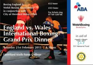England vs. Wales International Boxing