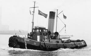 Steam Tug Brent Preservation Society at The College