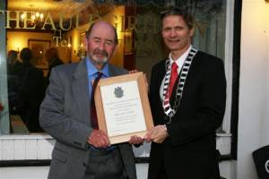 Thornhill & District RC honours Brian Lord