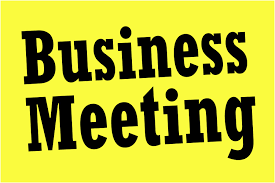 Business meeting & AGM