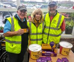 End Polio Collection at Busy Bee