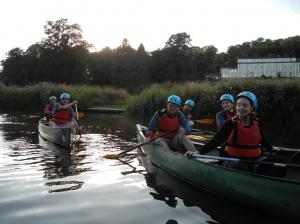 Canoeing with Rotary - July 2018