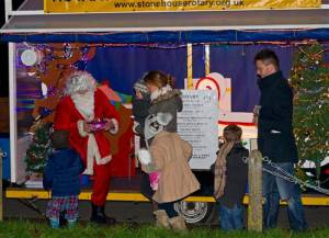 Stonehouse Rotary Christmas Carol Float