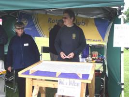 Rugeley Rotary at Summer Fayres
