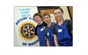 March Rotary Club's first Young Chef of the Year