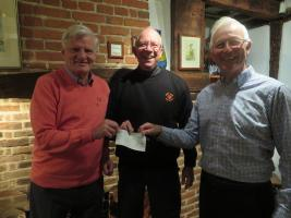 Cheque Presentation to Hope and Aid Direct -