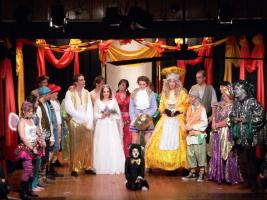 Bucks Young Carers join Risborough Seniors to visit Panto with Rotary