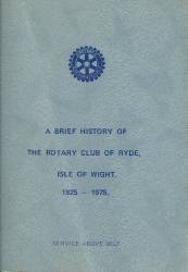A brief Club history 1925 to 1975 by Stan Bird