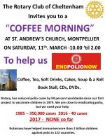 Coffee Morning for End Polio Now