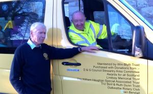 New Bus for Dalbeattie Day Centre
