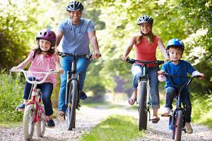 Family Cycle Ride along the Crab & Winkle Way