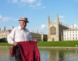 Sep 2014 Cambridge Punting - meet at Kings College Bridge with a picnic