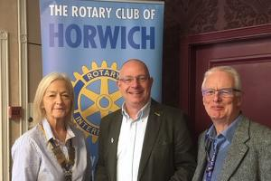Rotary Speaker: Dave Bagley from Urban Outreach
