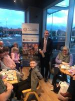 Presentation evening with Fife Deaf Children's Society and Happy Faces Fife