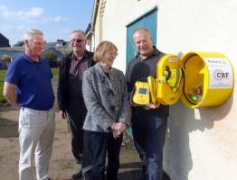defibrillators for public use in Broughty.