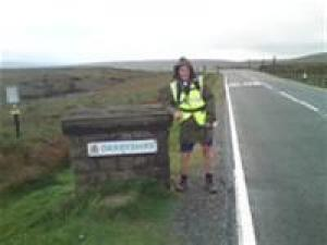 Walk from John O'Groats to Lands End by Doug Hamilton-Cox