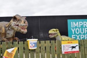 Fort Kinnaird is a wonderful shopping centre, always full of interesting things - like the animated dinosaurs last year!