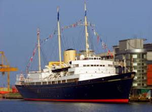The Royal Yacht Britannia -