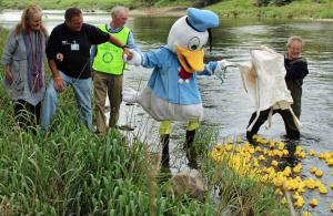 Ducks In The Sun Raise Money for Charity