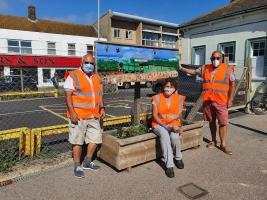 Martello Rotary Update Station Planters