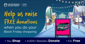 Please help us when you shop on Black Friday