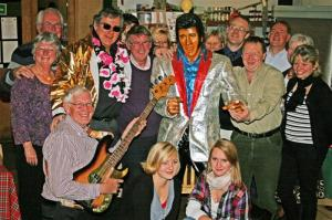 Rock & Roll & Rotary  Elvis Night
