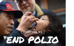 The worldwide challenge for Rotary to End Polio