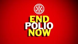 Rotary 'END POLIO NOW'