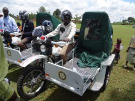 E Ranger Motorbike Ambulances