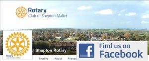 Follow Shepton Rotary on Facebook