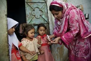 A milestone for humanity:  Two strains of polio are now eradicated