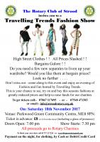 Flyer for Fashion Show - 18 November 2017 at 7.00pm at Parkwood Green Community Centre, ME8 9PN