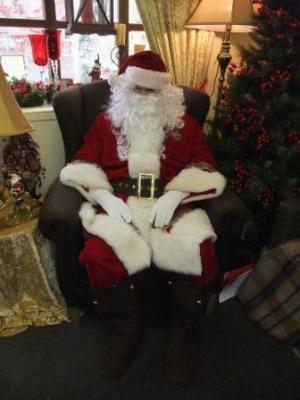 Father Christmas and Helpers at Three Shires