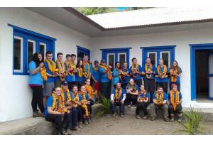 Rotary supports local Fire Cadets' Nepal Project