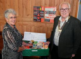 Donation to Wadebridge Foodbank