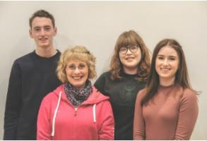 Carnegie Newsletter 19th March - Ciara O'Hara, Michael Doherty  and Rachel Munro