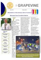 Frontpage of March Newsletetr