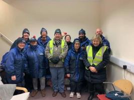 Reading Abbey Rotarians helping to look after the vulnerable in Reading