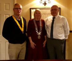 Rotarian Liz Baxter takes over as President 2018-2019