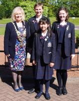 Monmouth Haberdashers' Girls School Speak out at National Final 2016 - 17