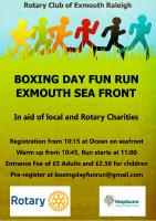Boxing Day Fun Run