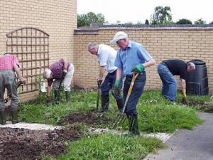 Gardening at Mirfield special School