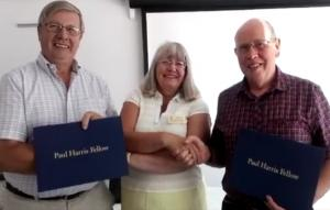 ​Club awards Paul Harris Fellowships