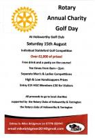 Rotary Charity Golf Day