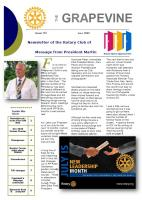 July 2020 Newsletter frontpage